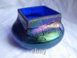 Bohemian Art Deco Iridescent Glass Bowl, 1930 Years
